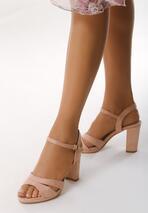 Różowe Sandały Born With