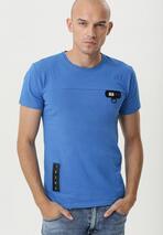 Niebieska Koszulka Get Loud