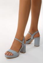 Niebieskie Sandały Radiantly