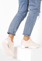 Jasnoróżowe Buty Sportowe Demonize