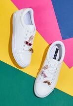 Białe Buty Sportowe Pyn