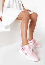 Różowe Buty Sportowe Burble