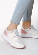 Biało-Różowe Buty Sportowe Gymnast