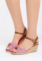 Czerwone Sandały Matelot
