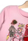 Różowa Bluzka Classy Madam