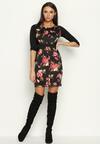 Różowo-Beżowa Sukienka Flower Power