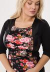 Różowo-Khaki Sukienka Hourglass