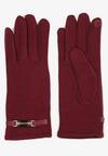 Bordowe Rękawiczki Envelop