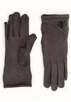 Ciemnoszare Rękawiczki Shammy