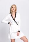 Biała Sukienka Deep Love