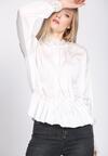 Biała Bluzka Lace Trims