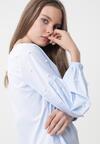 Niebieska Bluzka Artist's Muse
