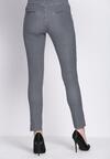 Granatowe Spodnie Modernism Shape