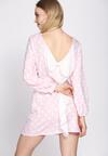 Różowa Sukienka Romantic Story