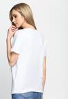 Jasnoszary T-shirt And White