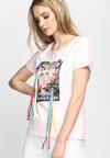 Różowy T-shirt Gold Digger