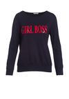 Granatowa Bluza Lady Boss