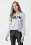 Szara Bluza Lady Boss