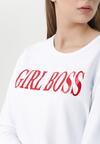 Biało-Czerwona Bluza Boss Lady