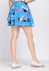 Niebieska Spódnica Spike Lavender
