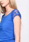 Niebieska Bluzka Longueur