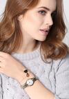 Srebrno-Złoty Zegarek Heartbeat