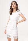 Biała Sukienka Chasing Shadows