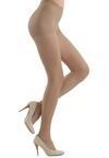 Brązowe Rajstopy Conte Dress Code