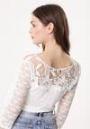 Biała Bluzka Haply