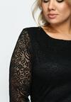Czarna Sukienka Wilec