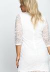 Biała Sukienka Wilec