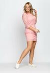 Różowa Sukienka Wilec
