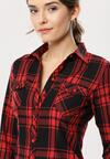 Czarno-Czerwona Koszula My Decision