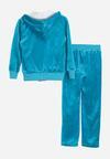 3-Częściowy Niebieski Komplet Dresowy Exercise