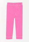 Różowe Spodnie Dresowe Enfold