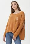 Camelowy Sweter Entertain