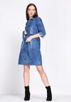 Niebieska Sukienka Natural
