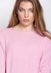 Różowy Sweter Boastful