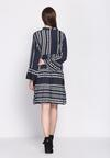 Granatowa Sukienka Commendable