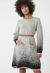 Jasnobeżowa Sukienka Efficacious