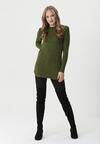 Zielony Sweter Well-Lit