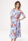 Niebieska Sukienka Bourgeon