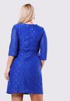 Ciemnoniebieska Sukienka Dismay