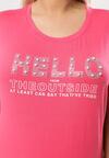 Koralowy T-shirt Famously