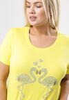 Żółty T-shirt Exceedingly