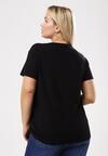 Czarny T-shirt Exceedingly