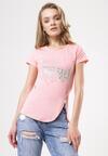 Jasnoróżowy T-shirt Proximately