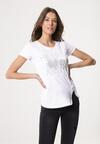 Biały T-shirt Proximately