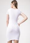 Biała Sukienka Aroadia
