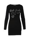 Czarna Sukienka Set In